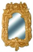 Stunning Gold Effect French Style Mirror